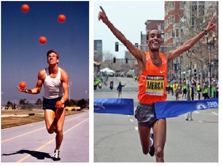 focused runners